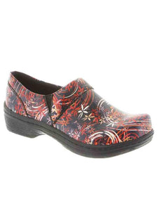 Klogs USA Mission Women's Clog Shoes Pin Drop Patent 6.5 M