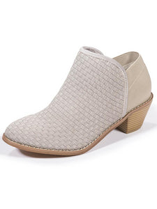Zee Alexis Womens Monica Ankle Boots Warm Grey 6 M