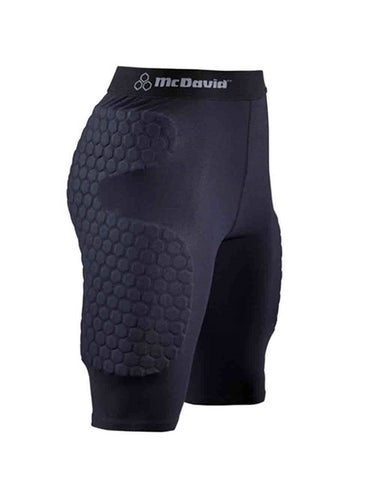 McDavid Classic Logo 9986 CL Hex Pad Freeride Protection Short - Black - X-Large