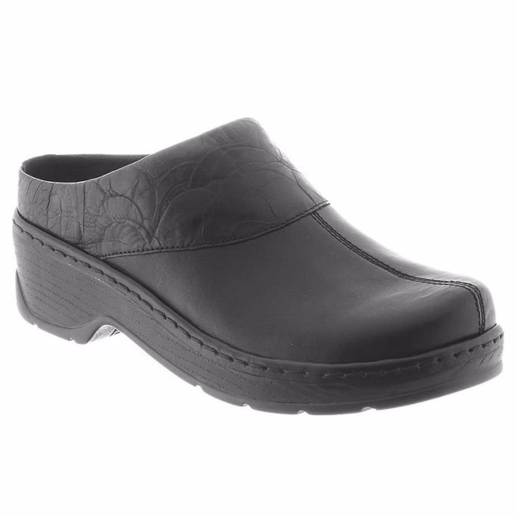 Klogs Mackie Women's Black Eagle 8 M Clog Display Model Shoes