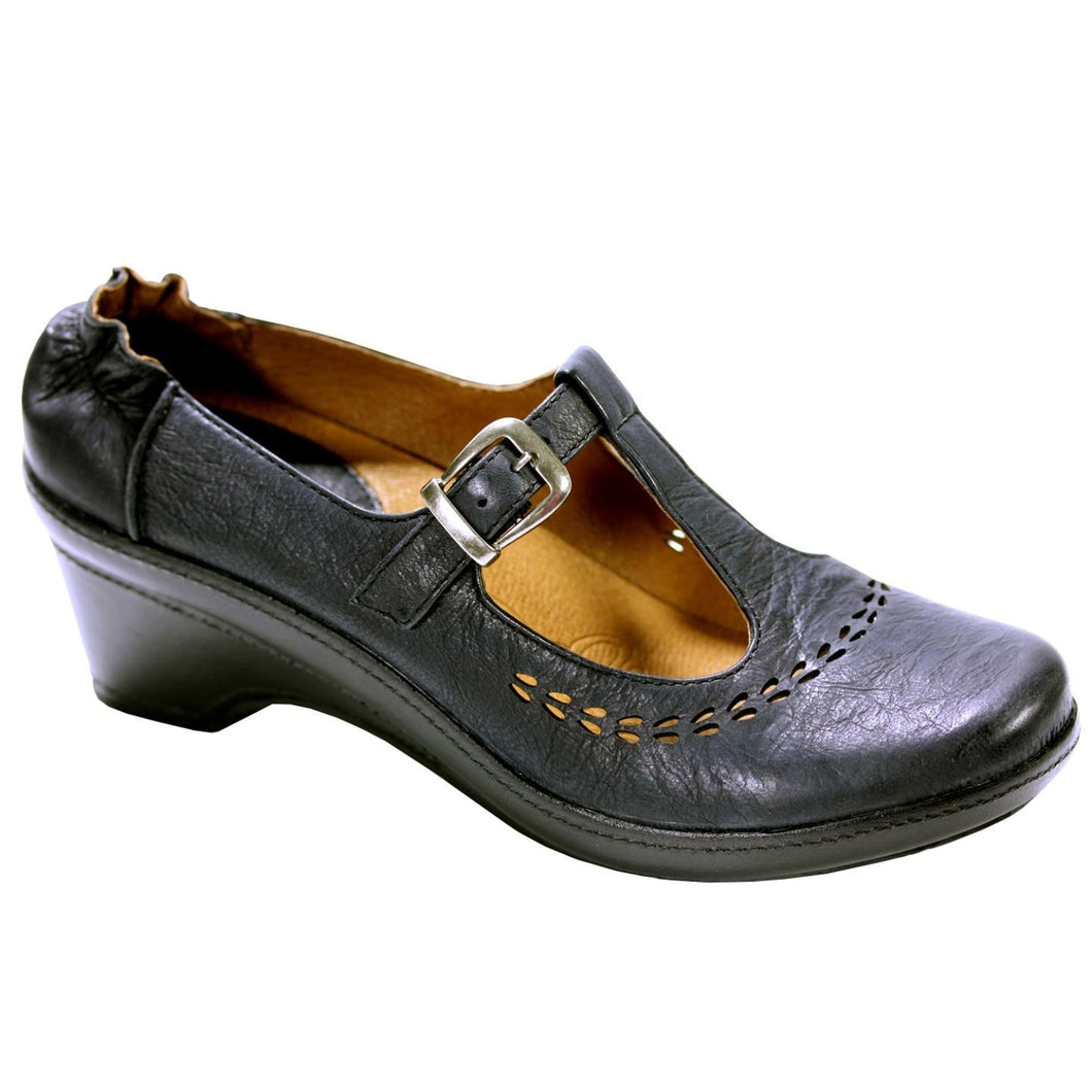 KLOGS KRAVINGS MENDOCINO WOMENS DISPLAY MODEL SHOES BLACK 8M