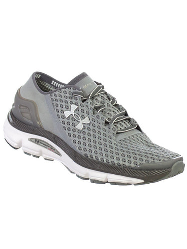 Under Armour Womens Speedform Gemini Athletic Shoes Steel Graphite 7.5 M
