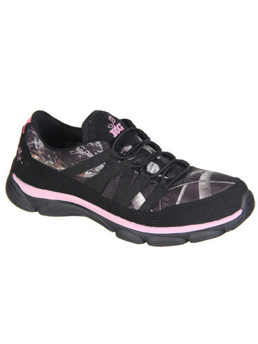 Authentic REALTREE Camo Women's Stella Slip-On Design Athletic Shoes Pink 6