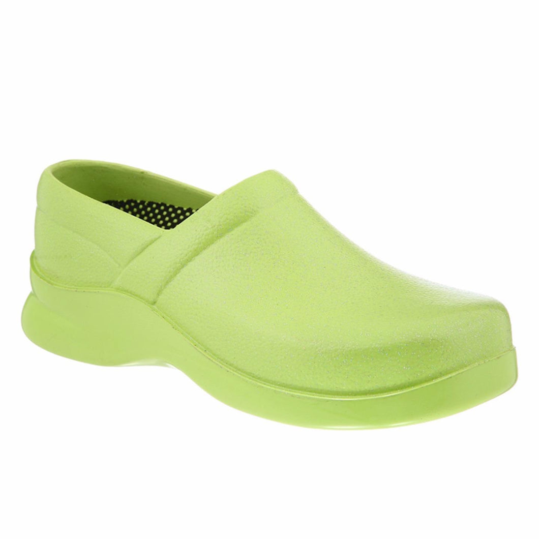 Klogs Brice Women's Lime 13 W Polyurethane Clog Display Model Shoe