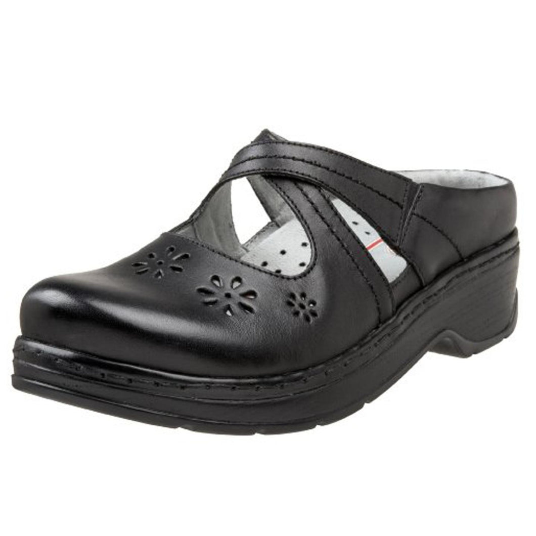 Klogs Camila Women's Black Smooth 10 W Clog Display Model Shoes