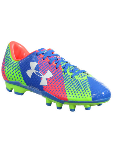 UNDER ARMOUR WOMENS UA W CF FORCE FG SOCCER CLEATS MULTI COLOR 5M