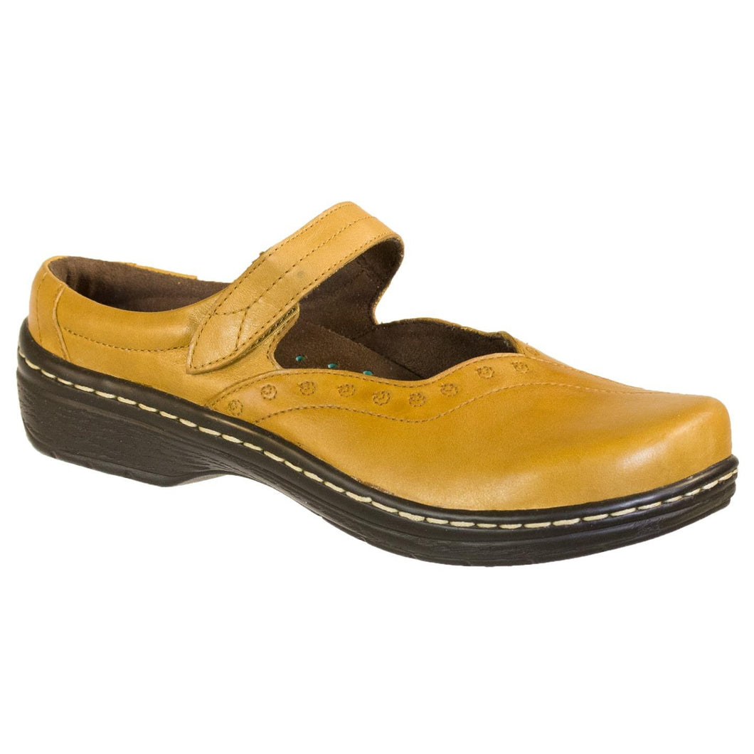 Klogs Amy Women's Leather Clogs Display Model Shoes Beeswax 8 M
