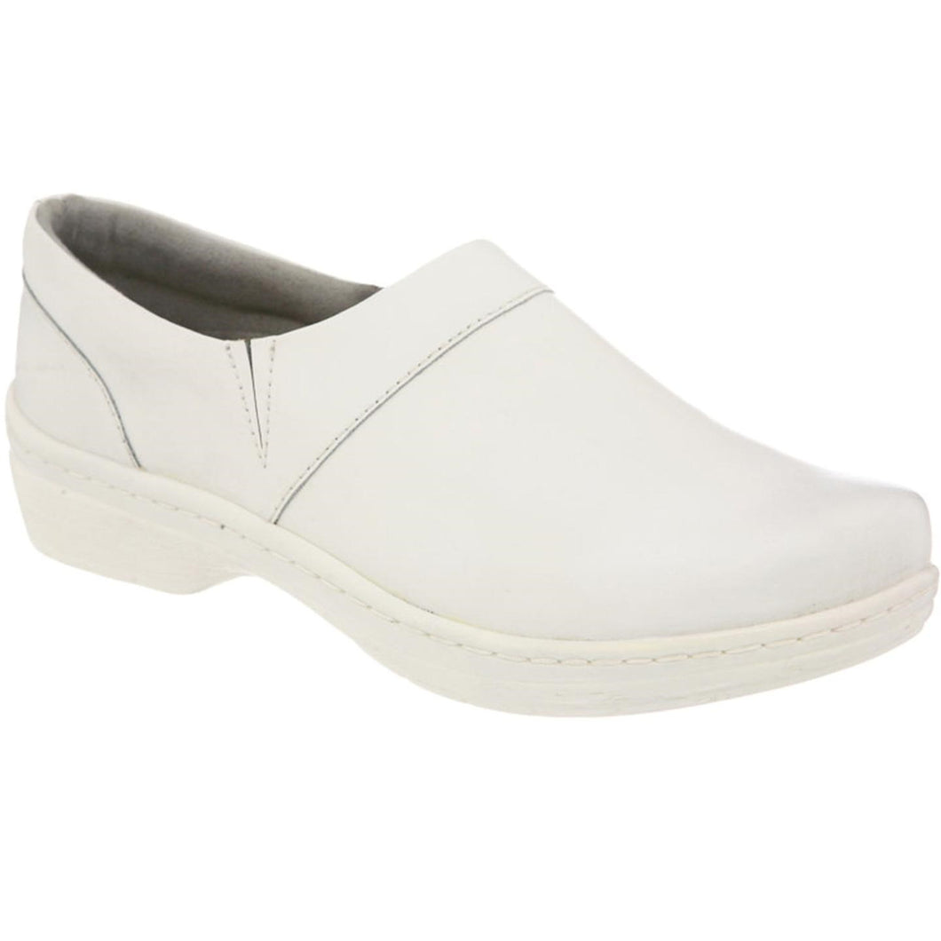 Klogs Missy Women's White Smooth 9.5 M Clog Display Model Shoes