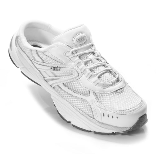 CHEEKS TONY LITTLE WOMEN'S EASYSHAPERS WALKING SHOES DISPLAY MODEL WHITE 9.5 M