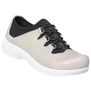 Klogs Tracy Women's Lace Up Display Model Shoes Frost Grey 8 M