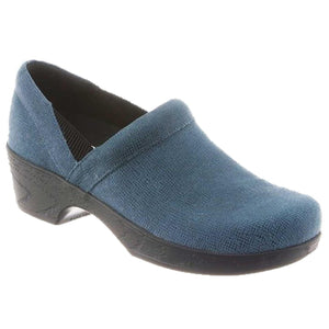 Klogs Polina Women's Blue Baldric 8 M Clog Display Model Shoes