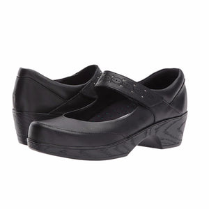 Klogs Silvia Women's Black KPR 9 M Clog Display Model Shoes