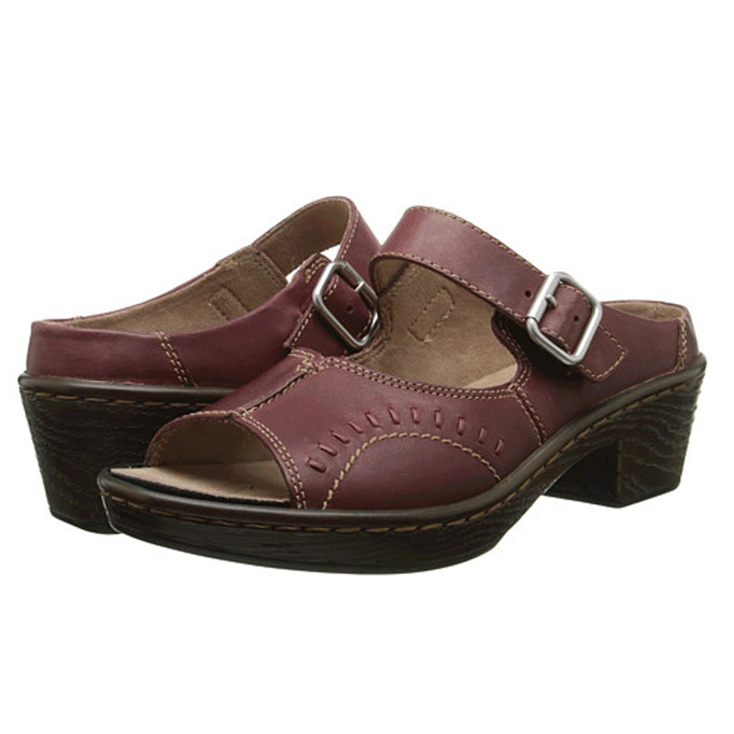 Klogs Vinnie Womens Clog Shoes Display Model Leather Tex Mex 7.5M
