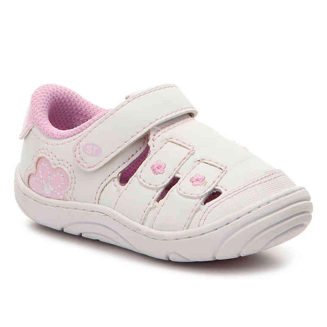 Stride Rite Tulsi Girls Toddler Sneaker Shoes White 5.5 M