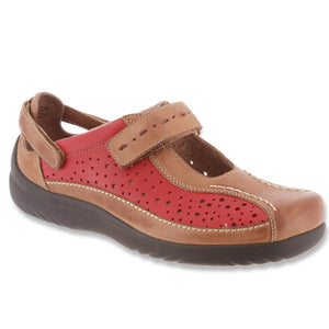 Klogs Vera Womens Clog Shoes Display Model Leather Hunter Red 8M