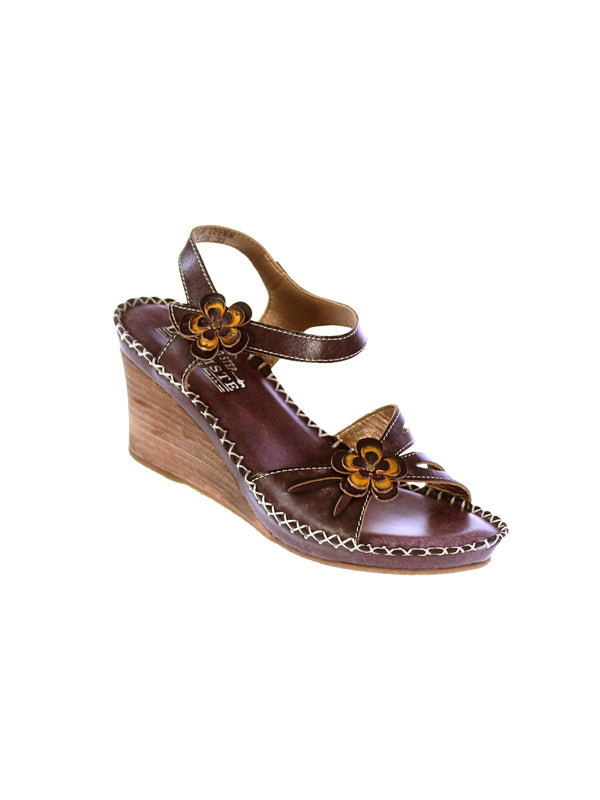 LILITH BY L'ARTISTE MADE IN ITALY WOMENS FASHION SANDAL BROWN EU 39M