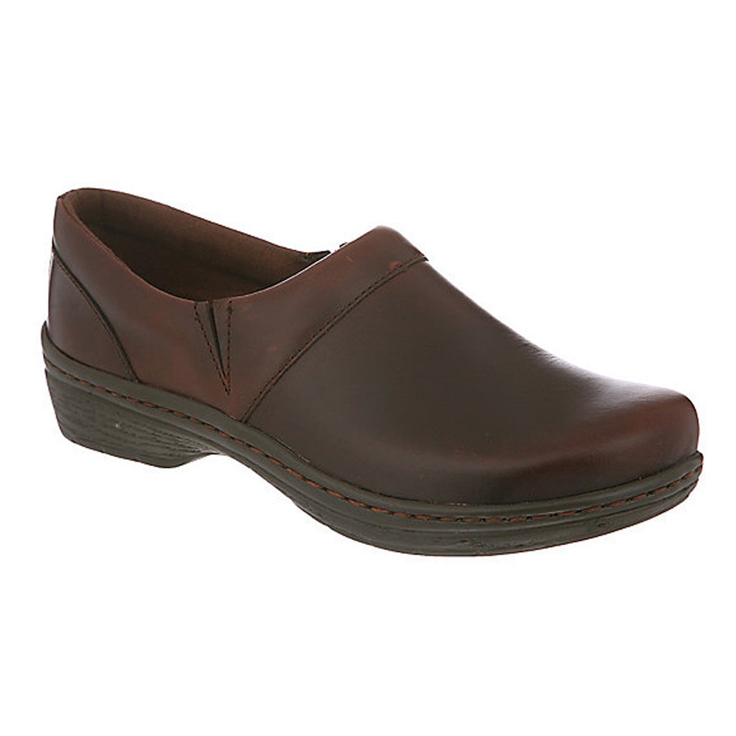 Klogs Missy Women's Mahogany Smooth 7.5 W Clog Display Model Shoes