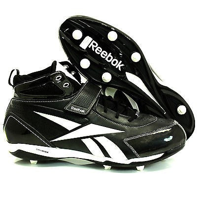 Mens NFL Reebok Pro Thorpe lll D4 DMX Ride Football Cleats Black Size 16
