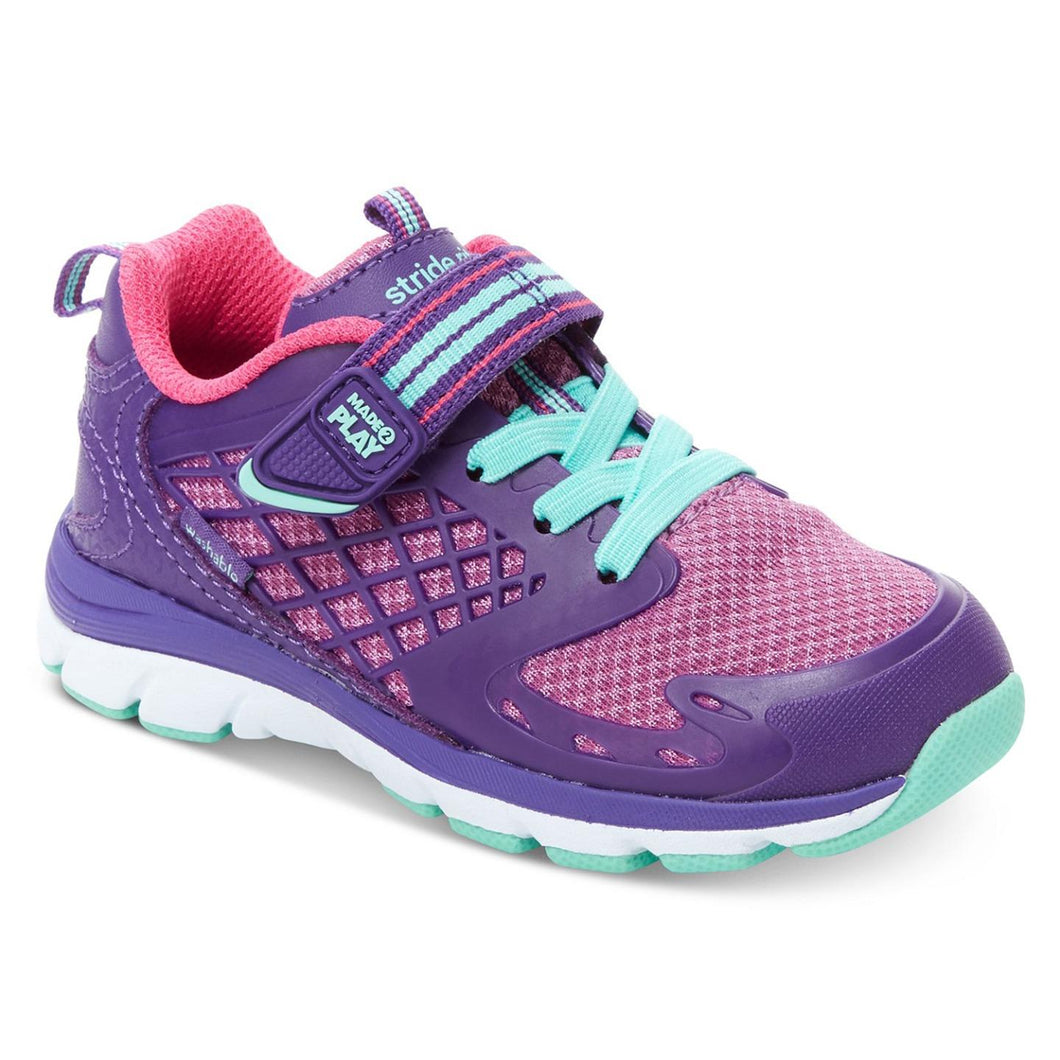 Stride Rite Cannan Made2play Girls Sneaker Shoes Purple 6.5 W