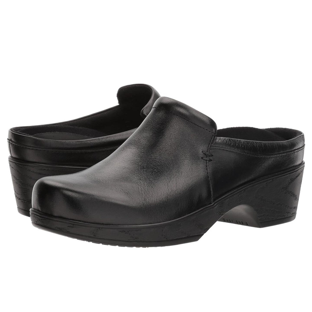 Klogs Suzie Women's Black Tintoretto 11 M Clog Display Model Shoes