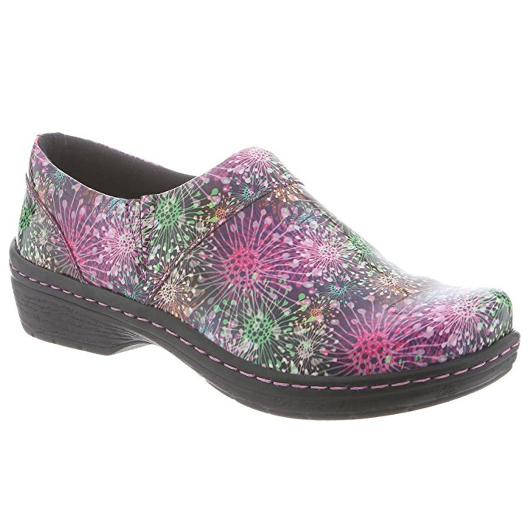 Klogs Missy Women's Dandelion Patent 7 M Clog Display Model Shoes