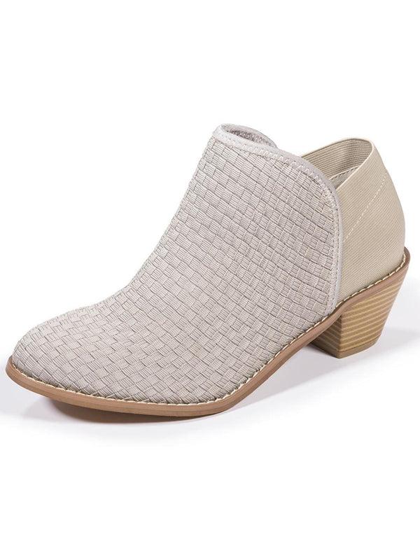 Zee Alexis Womens Monica Ankle Boots Warm Grey 7 M