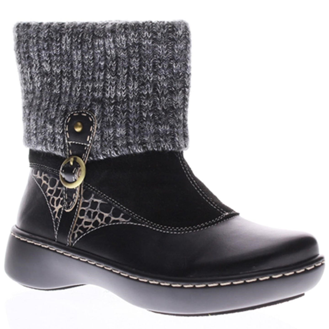 L'ARTISTE ONTARIO Womens Italian Leather Boots Black Euro 36, US 5.5-6M