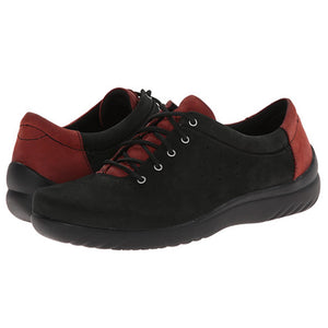 Klogs Piper Women's Rosewood Black 8 M Lace Up Display Model Shoes