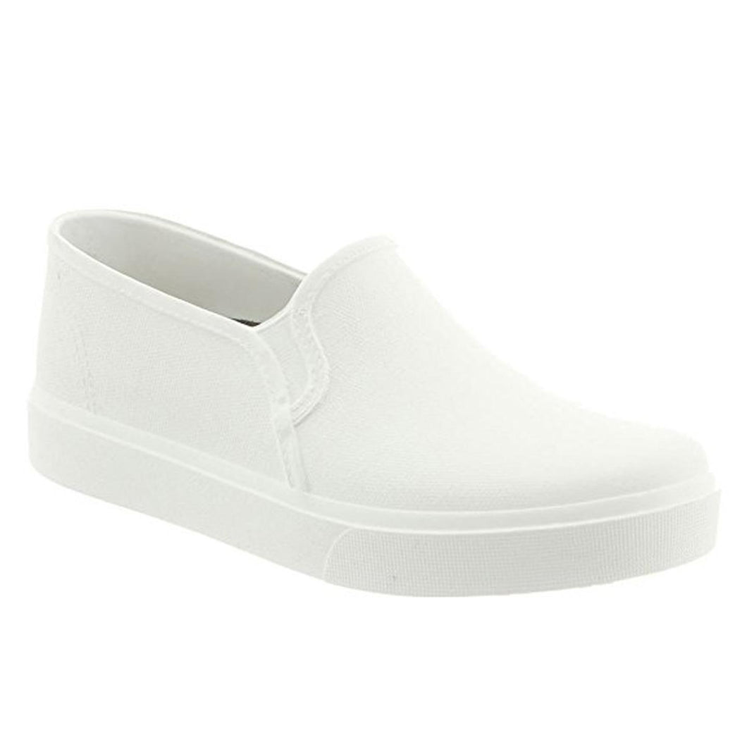 Klogs Trudy Women's White 8 M Polyurethane Clog Display Model Shoes