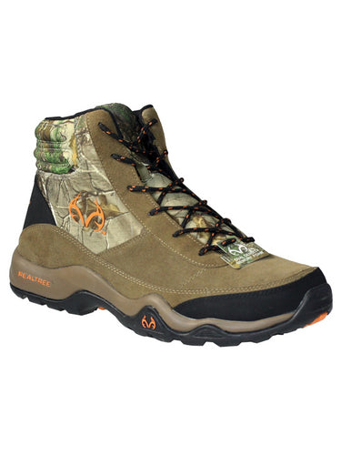 Realtree Outfitters Men's Bison Brown Camouflage Hiking Boots 11 M