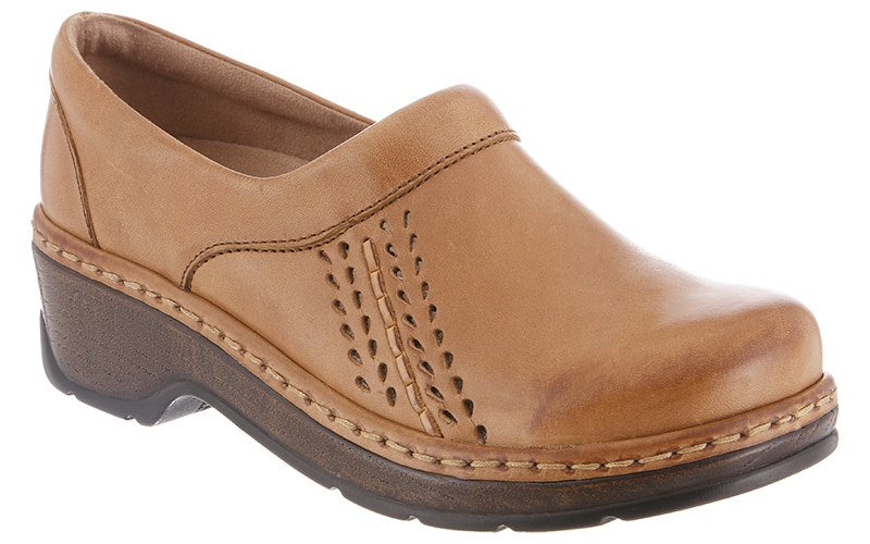 Klogs Sandy Women's Driftwood 7.5 W Clog Display Model Shoes