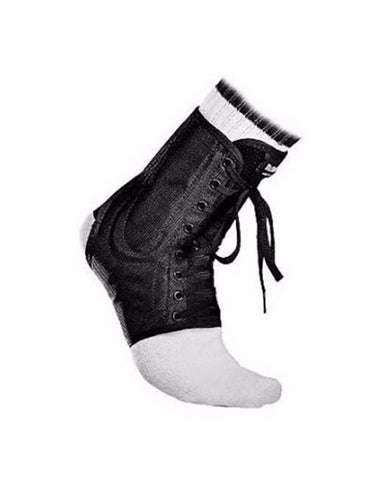 McDavid Classic Logo 199 CL Level 3 Ankle Brace / Lace-up W/ Stays Black large