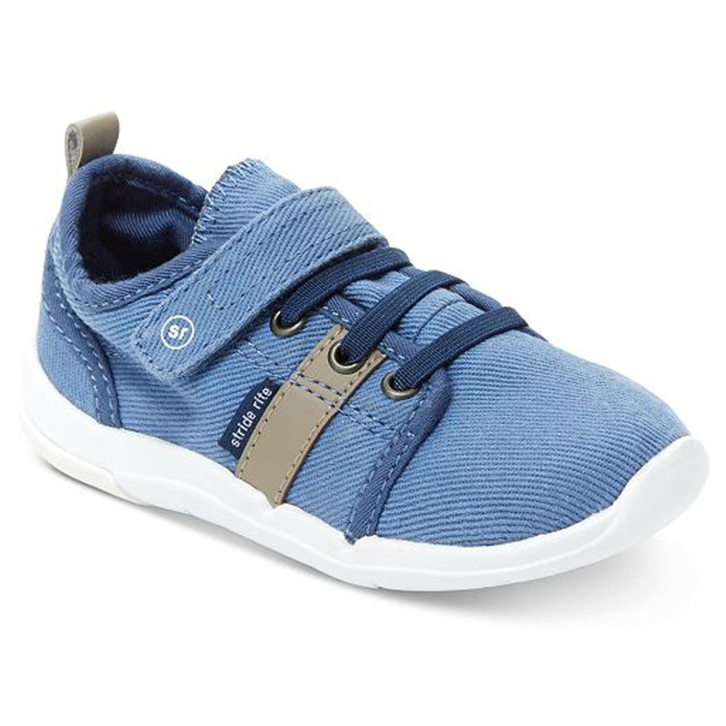 Stride Rite Dixon Boys Sneaker Shoes Blue 5 W