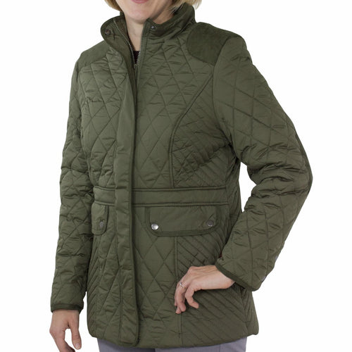 Totes Women's Mid Length Quilted Jacket Forest 12 Piece Lot 1 S, 7 M, 3 L, 1 XL