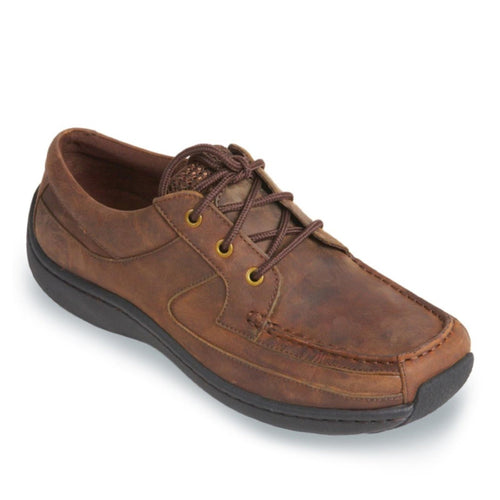 Klogs Men's Navigator Leather Shoes Dark Brown Oiled 13 M