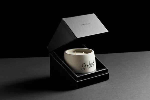 Premium candle packaging luxury gift for men