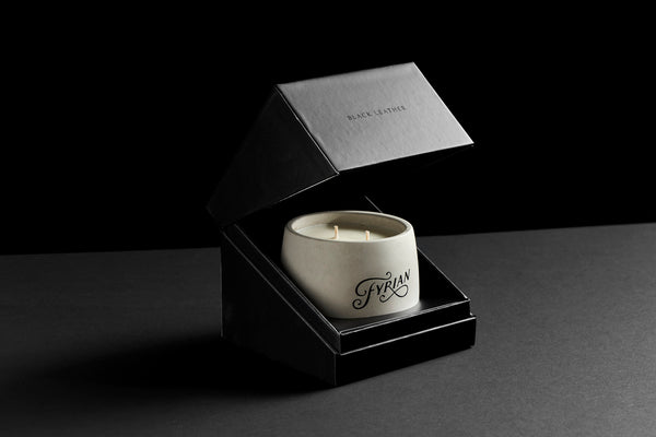 Fyrian candle packaging premium