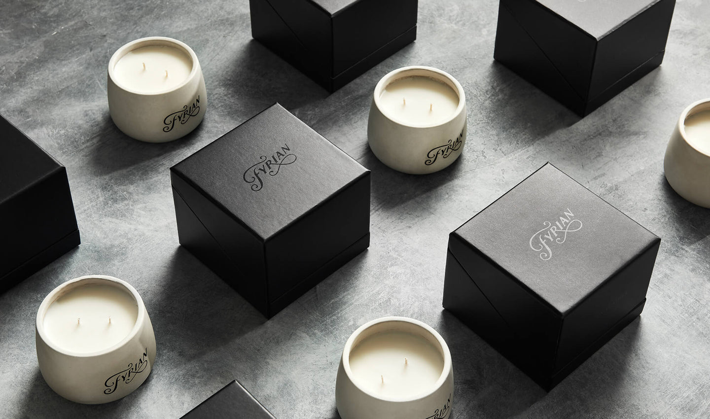 Fyrian Candle Collection