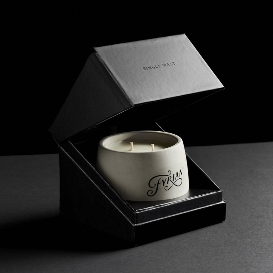 Single Malt Candle Packaging