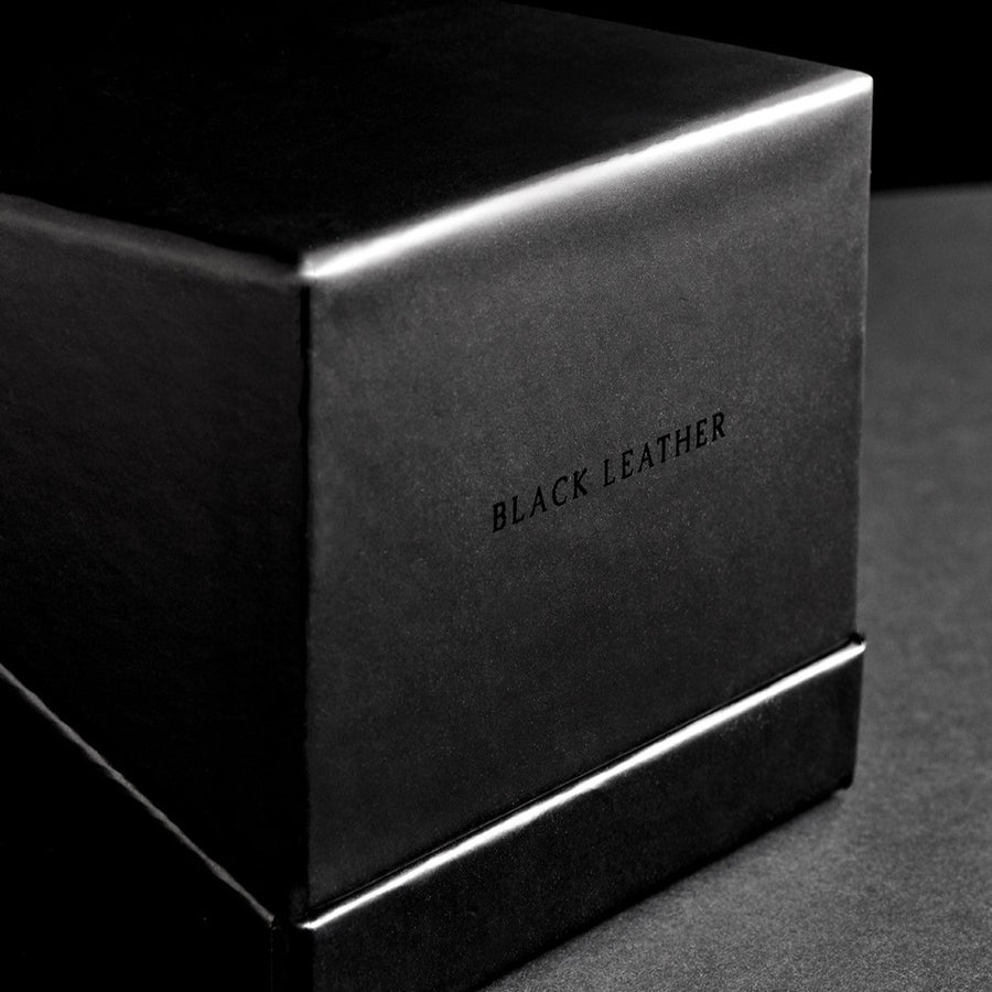 Black Leather Candle - Fyrian