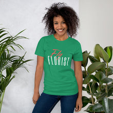 "Load image into Gallery viewer, ""Fly Florist"" Unisex T-Shirt"