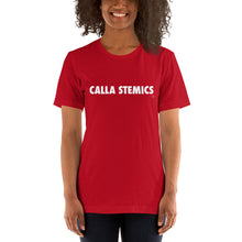"Load image into Gallery viewer, ""Calla Stemics"" T-Shirt Wht"