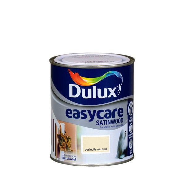 Dulux Easycare Satinwood (750Ml) Perfectly Neutral