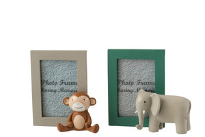 Elephant/Monkey Photo Frame