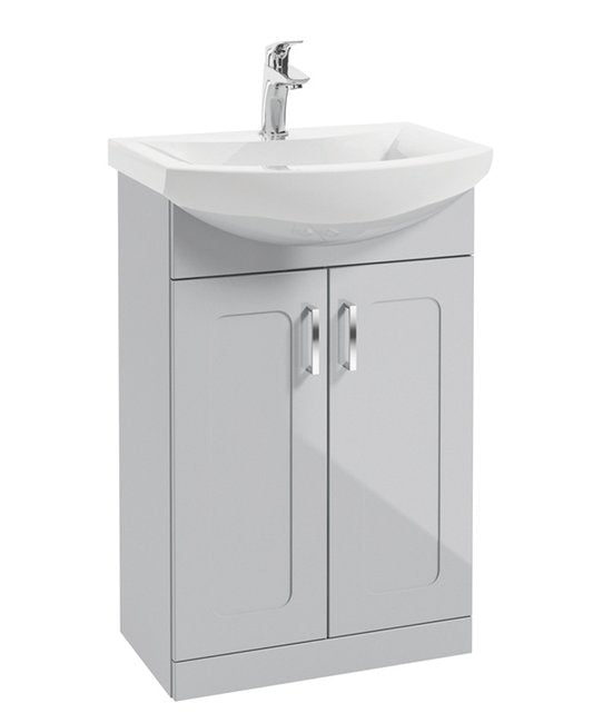 Sonas Bristol 55Cm Floorstanding Unit With Norfolk Basin Mixer  - *Special Offer