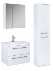 Sonas Otto Plus Gloss White Wall Hung Unit Furniture Pack  - *Special Offer