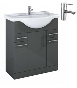 Sonas Belmont Gloss Grey 75 Pack-Nena - *Special Offer