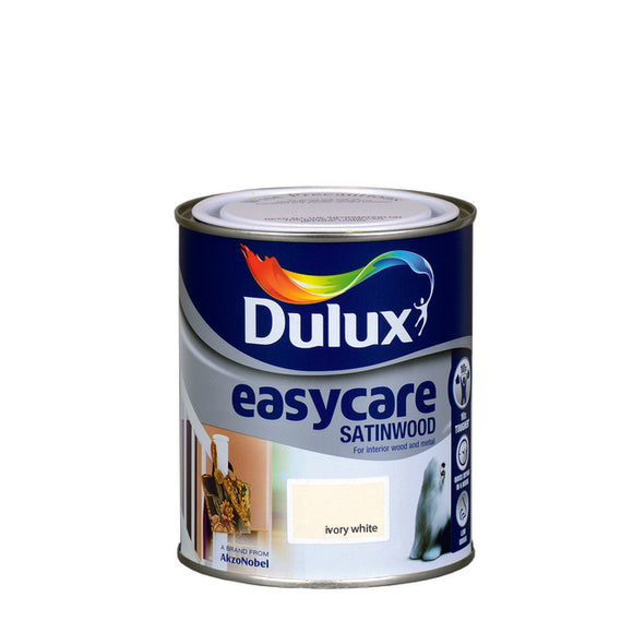 Dulux Easycare Satinwood (750Ml) Ivory White