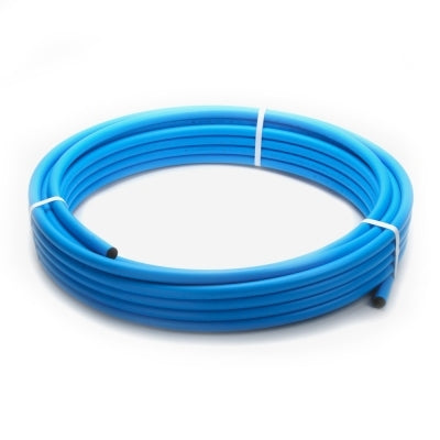 MDPE Blue 32mm X 100M Coil
