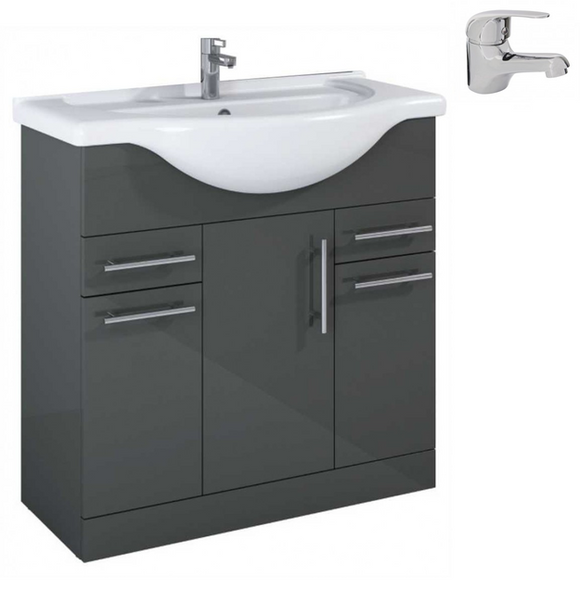 Sonas Belmont Gloss Grey 85 Pack-Alpha - *Special Offer